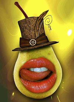 Yummy Pear by cazcastalla