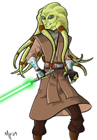 Kit Fisto by Trouillefou