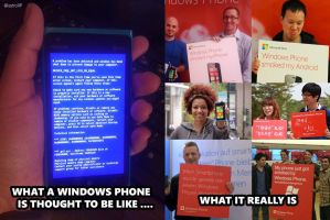 Windows Phone meme by astroXP
