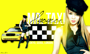 Hyoyeon: Mr. Taxi by aethia321