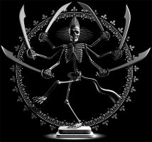 Skeleton Shiva by WDBurns