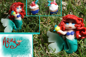 Ariel Chibi by gingerbouf