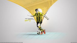 365. Robert Lewandowski by RGB7