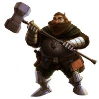 Dwarf - Cleric by RenanNunes