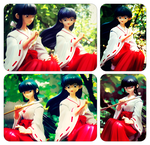 Inuyasha figurines - part III by Kay-I