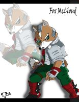Fox McCloud by kzmaster
