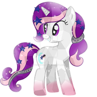 Comission-15 Harmony Night Crystal Pony by Posey-11