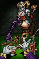 Harley Quinn Poker by Duel15