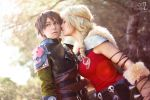 Astrid kiss me by LauzLanille