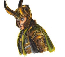 Loki by Blanca-lime