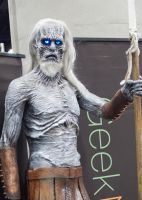 White Walker statue by EriTesPhoto