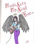 Music Sets My Soul Free... by Befu-Eiesutone