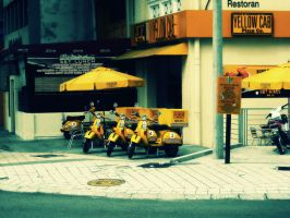 Yellow Cab 1 by sp3ctrm5tr