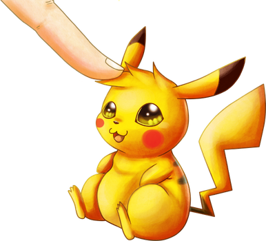 Pikachu: Soft Touch by Deruuyo