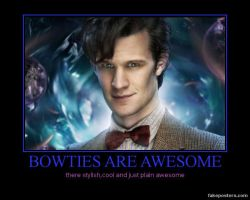 bowties-dr.who motivational by LoveEdElric