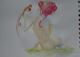From Overclouds - Watercolor by Anima-en-Fuga