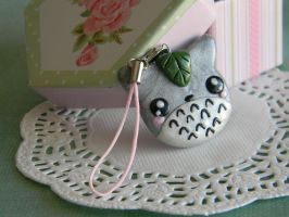 Totoro Charm-Metalic by ThePetiteShop