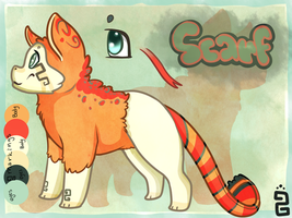 Scaf OC - Reference Sheet by little-space-ace