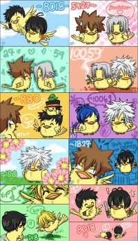 KHR: Hibirds Compilation01 by dayea