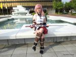 Lightning (Final Fantasy XIII) Cosplay by YauKeika
