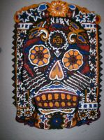 Day of the Dead Wall Slab by silent-assassin-XIII