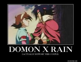 MFGG: Domon x Rain by BoldCurriosity
