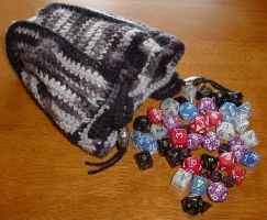Birthday Dice Bag for Chad by ArielManx