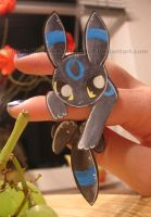 Umbreon Paperchild by RonTheWolf