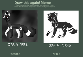 draw this again meme by CosmicTacos