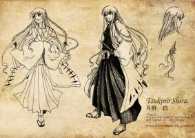 Bleach OC :: Tsukino Shira by yaocchi