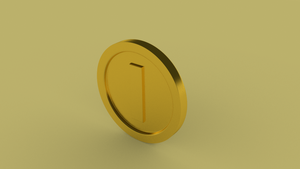Golden Coin by SeanAlmighty
