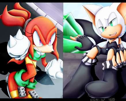 Give me my emerald! by Kitsune-Jay