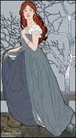 Naive Little Sansa Stark by Lauren-Oh