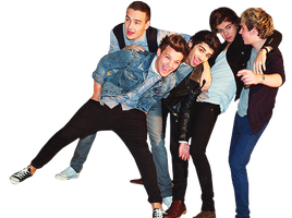 One Direction Png by MelikeSeymaTuna