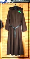 Brown Hooded Robe by Thaly