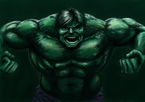Hulk Speed Painting by Deviator77