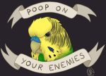 Poop On Your Enemies by AlcamecArt