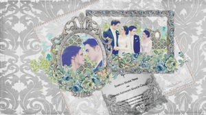 Edward and Bella Wedding by mllebarbie03