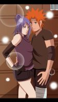 Konan and Yahiko Love by Sarah927