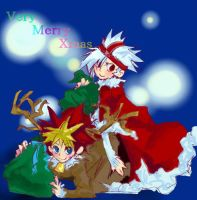 Specter and Kakeru Christmas by PipoMadness1992