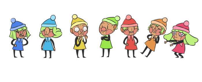 The Sprites by supermegaultrabanana