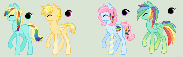 shipping adoptables (2 left) by Azurah-Adopts