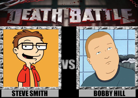 Death Battles: Steve Smith Vs. Bobby Hill by MrAngryDog