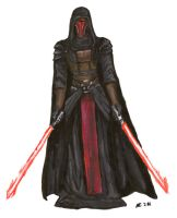 Darth Revan by EggplantWizard