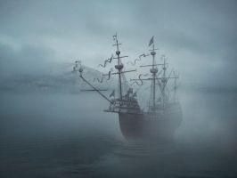 Ghost Ship by BitterGreen