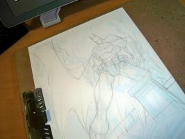 Commish 91 WIP 03 by RobDuenas