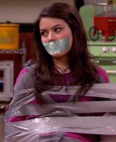 Miranda Cosgrove Taped Up and Gagged 2 by Goldy0123