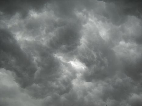 Stormy Clouds 1 by HexedStock