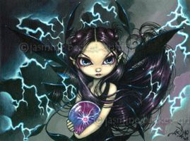 Bringer of Lightning by jasminetoad