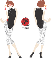 Chinese Zodiac - Tiger by BenyiHS